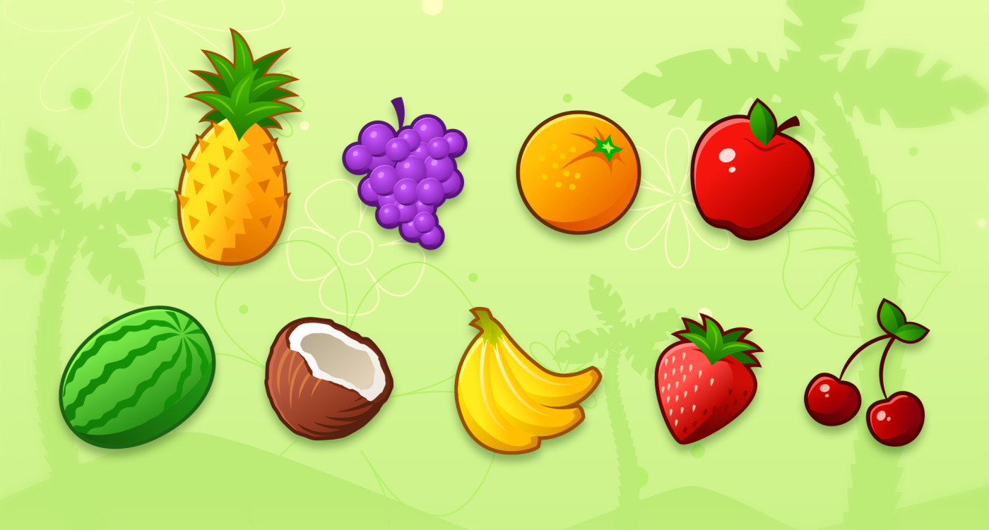 Fruit-Icons