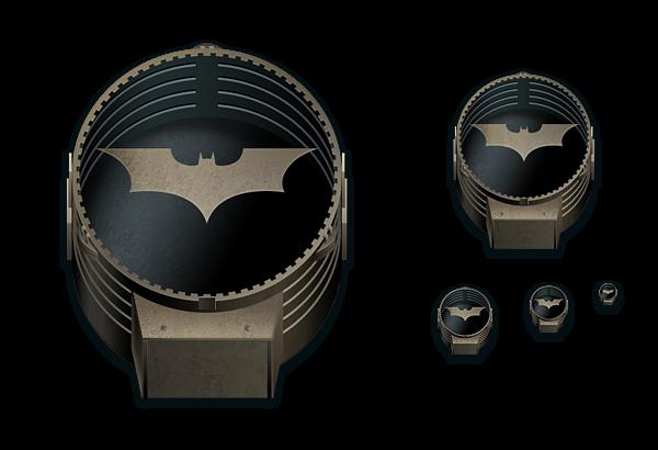 Bat Signal (off)