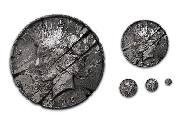 Two-Face Coin (scarred)